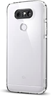 Spigen Ultra Hybrid LG G5 Case with Air Cushion Technology and Hybrid Drop Protection for LG G5 2016 - Crystal Clear