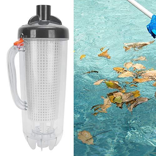 Limpiador de succión al vacío para piscina, Limpiador de hojas para piscina Aspirador para hojas de piscina para filtrar Hoja de piscina para piscinas enterradas