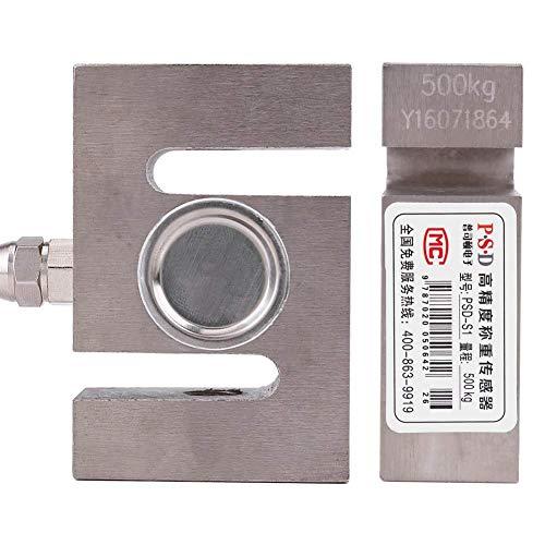 Manyao Célula de Carga del Sensor, S Tipo de Escala Beam con un Peso de 500 kg Sensor con Cable de pesaje electrónico Dispositivos módulo for medir el Peso de precisión