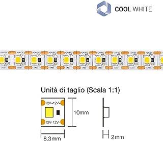 Lotto 10 pezzi per Diodo Led 3mm Bianco freddo alta luminosità
