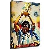 Elliot Dorothy Diego Maradona Argentinien-Fußball-Poster,