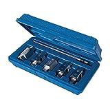 Silverline 867613 Juego de Llaves para Drenaje de Aceite, 6 Piezas