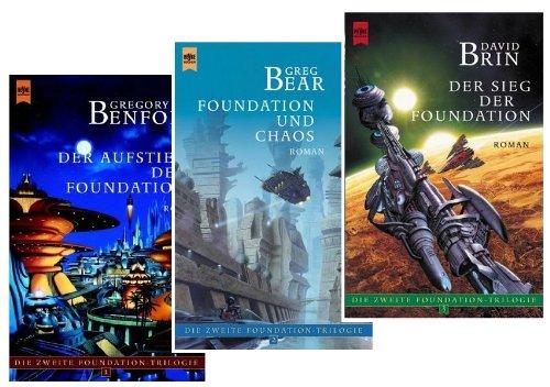 Die zweite Foundation Trilogie (Der Aufstieg der Foundation - Der Fall ... - Der Sieg ...)