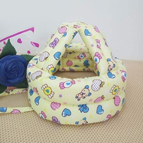 YXR - Gorro de bebé para niños y bebés, anticolisiones, casco de seguridad para bebés, suave, cómodo, ajustable, sombreros y gorras, AliExpress, color Mz3395j, tamaño MZ3395J