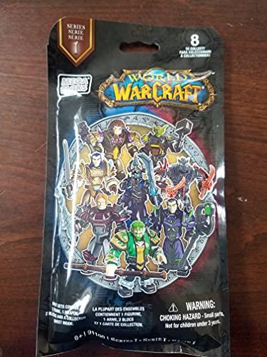 Mega Bloks World of Warcraft Series 1 Figures Blind Pack, 1PCs/Display Box