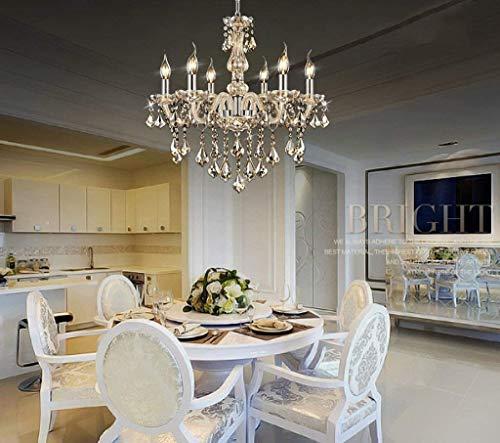Plafondlamp Europese en Amerikaanse moderne hedendaagse eenvoudige glas kristallen enkele LED kroonluchter voor restaurant woonkamer transparante kleur Cognac dfghjfdsafgf transparant
