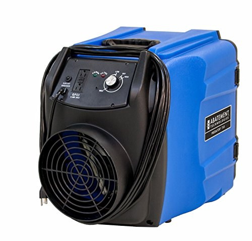 Portable Air Scrubber by Abatement Technologies Mobile HEPA Filtration Device Great for Containing...