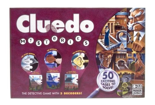 Hasbro Cluedo Mysteries
