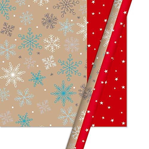 Mijnwerker Pakket Papier Cadeaupapier Inpakpapier Kerstdecoratie Groen Ambachtelijk Papier Cadeaupapier Artware Verpakking 1 stuks, 1
