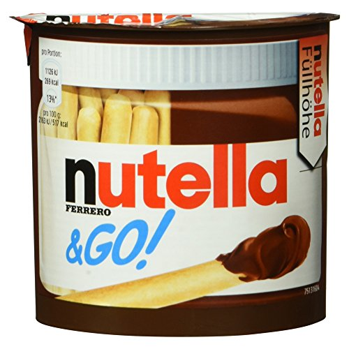 Ferrero nutella und Go!, Brotsticks und Nuss-Nugat-Creme, 52 g