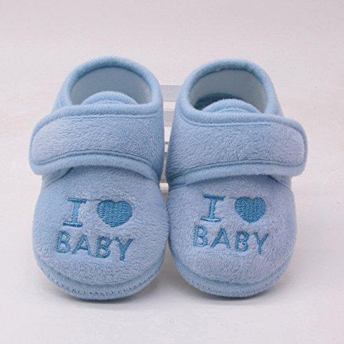 Erste Schritte Schuhe Kind 11, Baby Mädchen und Jungen Schuhe mit weicher Sohle Magnet Buchstabe Druck Kinderbett Schuhe 0-6 Monate Günstige Stiefeletten Turnschuhe für Kindertag