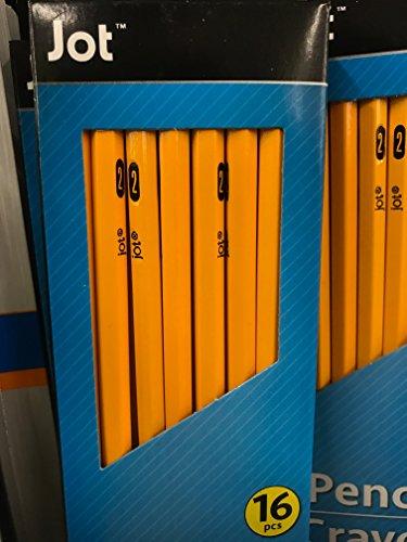 Yellow No. 2 Pencils, 16-ct. Packs (1 box of 16)