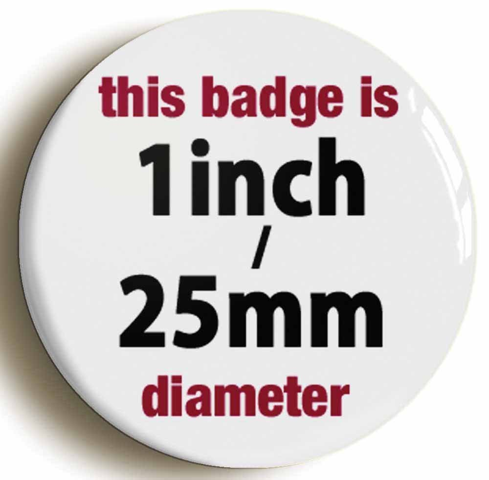 AWESOME FUNNY BADGE BUTTON PIN Size is 1inch//25mm diameter