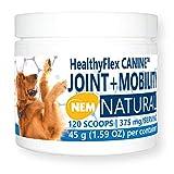 Equa Holistics HealthyFlex Canine Joint + Mobility Dietary Supplement for Dogs, Natural Eggshell Membrane NEM Formula