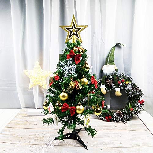 HTHJA 60cm Mini Árbol De Navidad, Pequeño Árbol De Navidad Artificial, Mesa...