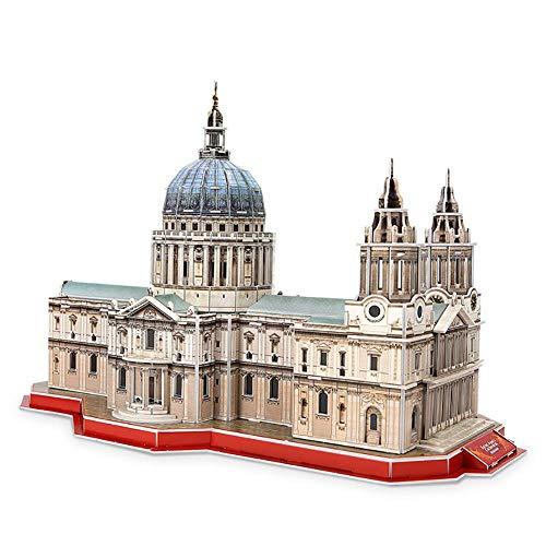 NAN 3D-Papier-Puzzle DIY 3D-Laserschnitt-Modellbausatz Spielzeug (107 Stück) 20.5 * 22.5 * 27CM