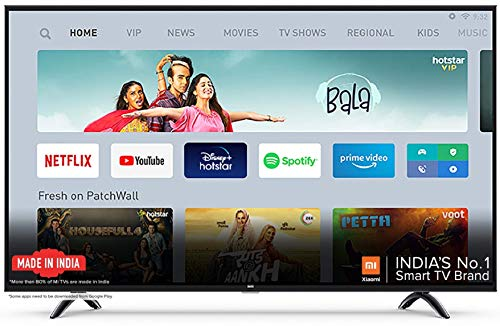 Mi 4A PRO 108 cm (43 Inches) Full HD Android LED TV (Black)