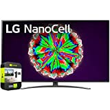 LG 65NANO81ANA 65 inch Nano 8 Series Class 4K Smart UHD NanoCell TV with AI ThinQ 2020 Bundle with 1 Year Extended Protection Plan