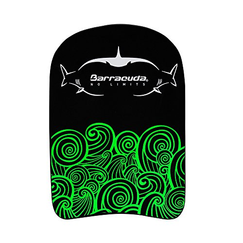 Barracuda Swimming Kickboard GLOW PARTY COMPACT SHARKWHALE Swim Training Aid EVA Float Floating Buoy Chlorine proof Comfortable for Children Kids IE MAB14S GREEN