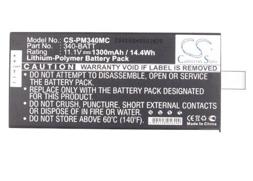 CS-PM340MC Akku 1300mAh Kompatibel mit [Polaroid] GL10, GL10 Mobile Printer, Z340 Ersetzt 340-BATT