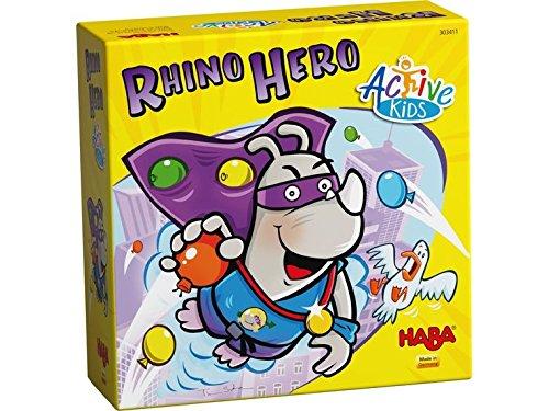 HABA – Rhino Héro Action – Plástico y cartón – 303413