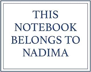 This Notebook Belongs to Nadima