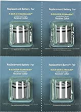 Invisible Fence Compatible 4 Pack Batteries R21 R22 R51 by Caitec