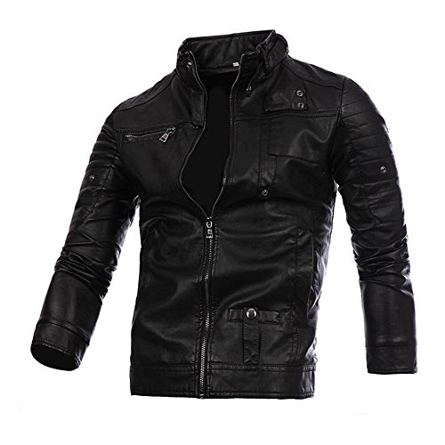 Designers Men Leather Biker Jacket