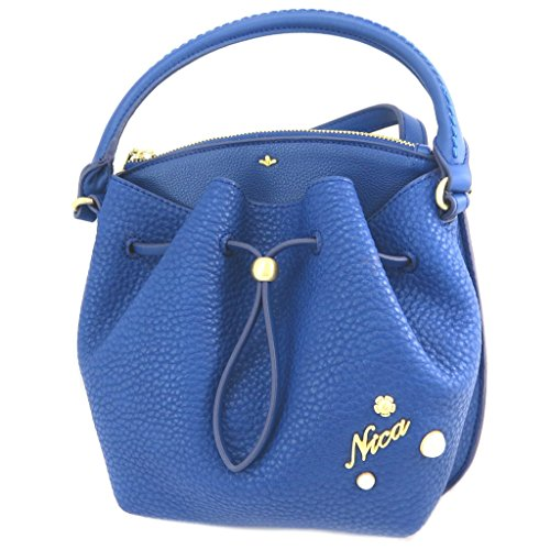 Nica [P3427] - Creative tasche 'Nica' blau (2 fächer)- 24.5x24x6 cm.