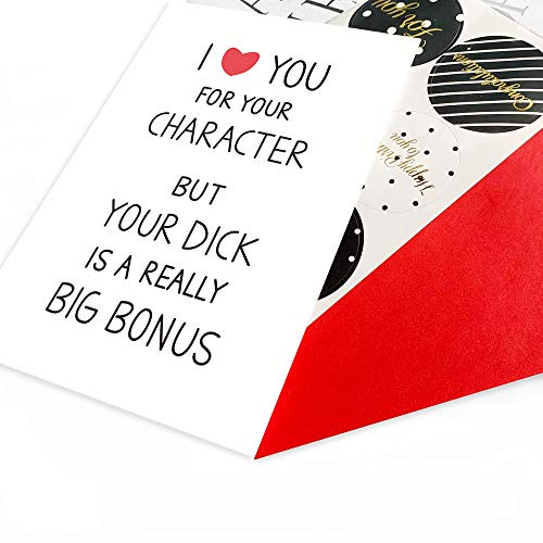 Naughty Valentine's Anniversary Card,Funny Birthday Card