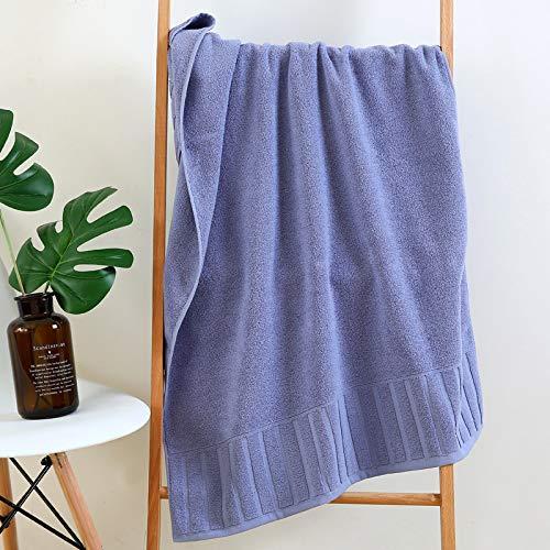 DSJDSFH badhanddoek van puur katoen voor volwassenen 70 * 140 cm aangenaam absorberend en niet gemakkelijk te verliezen haren 400G