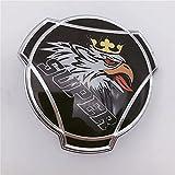 1 x Negro Griffin Super para Scania Truck Rejilla de radiador Emblema...