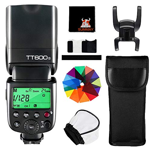 Godox TT600S Flash Speedlite Flash Inalámbrico HSS 1/8000S TTL sincronización Alta Velocidad para Sony DSLR Cámara Esclavo Flash