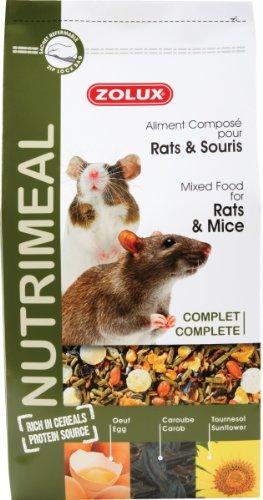 nutrimeal ratón y rata bolsa de 2,5kg Mezcla completo Riche en sabor.
