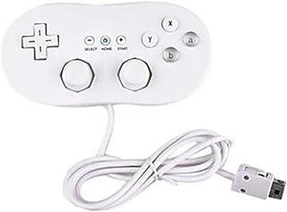 Blackfell Wii 1リモートコンソールビデオゲームアクセサリー用有線クラシックコントローラホストゲームジョイスティックゲームパッドコントローラ