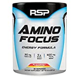 RSP Nootropic Pre Workout AMINOFOCUS, Turbo-Charged Energy & Limitless Focus, Naturally Flavored Pre Workout Powder for Men & Women, Creatine Free, Refreshing BlackBerry Lemonade, 30-Servings