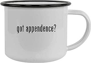 got appendence? - 12oz Stainless Steel Camping Mug, Black