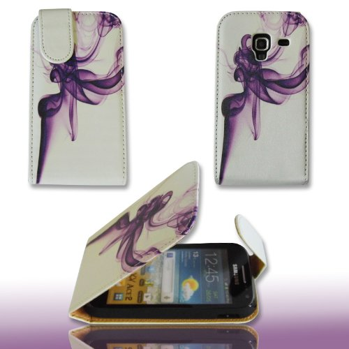 PeKa Internethandel Funda Flip Style–No. 1–Cover Funda Case para Samsung I8160Galaxy Ace 2