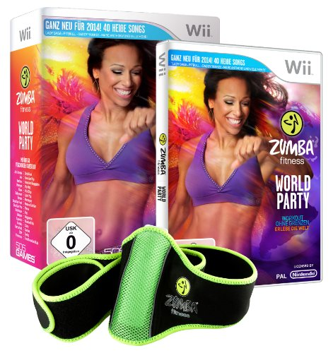 Zumba Fitness World Party (inkl. Fitness - gürtel) - [Nintendo Wii]