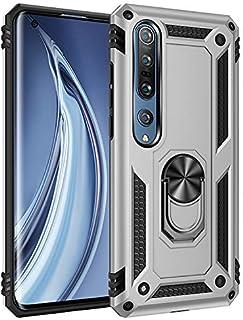 comprar comparacion BestST Funda para Xiaomi Mi Note 10/Mi Note 10 Pro, Protector de Pantalla,Elegante Armadura híbrida Robusta Funda de Doble...