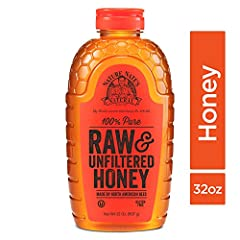 Nature Nate's 100% Pure, Raw & Unfiltered Honey is the perfect sweetener and processed sugar substitute straight from the hive Our honey is gently warmed and then strained, not filtered, to take the bee parts out and leave the good stuff, like pollen...