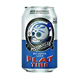 Pistonhead Non-Alcoholic Flat Tire Beer | Dry-Hopped with Mosaic Hops | 24...