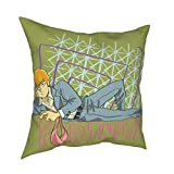 JUCHen Internet Sex Symbol Reigen Arataka Throw Pillow Cover Decorative Pillow Case Home Decor Square 16x16 Inches Pillowcase