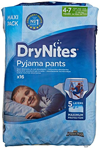 8-15 a/ños 13 unidades Braguitas absorbentes para ni/ñas 27-57 kg Huggies DryNites