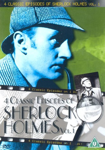 Sherlock Holmes - 4 Classic Episodes - Vol. 1 - The Case Of The Night Train Riddle / Case Of Lady Beryl / Mother Hubbart Case /