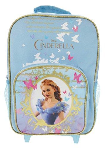 Disney Princess Bagage Enfant, Bleu Clair (Bleu) - DPRIN001223