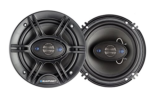 Blaupunkt 6.5-Inch 360W 4-Way Coaxial Car Audio Speaker, Set of 2