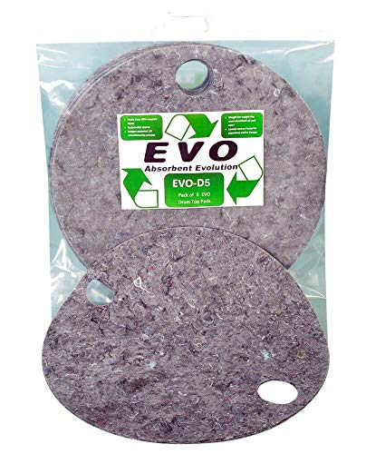 EVO universale Spill assorbente drum Toppers–5confezione
