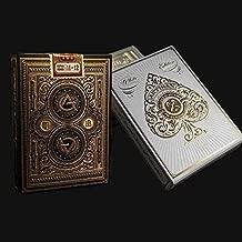 Theory11 Artisan Playing Card 2 Deck Bundle (1 - Black, 1 - White)