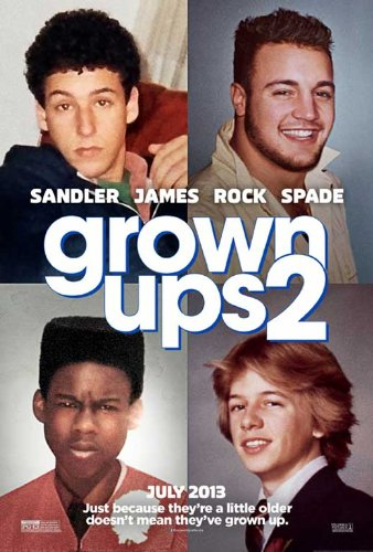 Grown Ups 2 (2013) 27 x 40 Movie Poster Style A